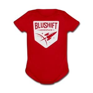 BluShift Logo - Short Sleeve Baby Bodysuit