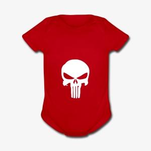 The Punisher - Short Sleeve Baby Bodysuit