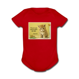 Frase - Short Sleeve Baby Bodysuit