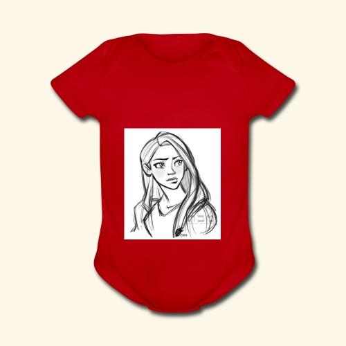 It's for teenagers - Organic Short Sleeve Baby Bodysuit