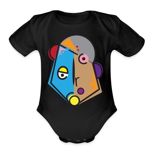 Preston - Organic Short Sleeve Baby Bodysuit