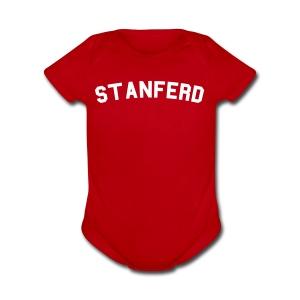 Stanferd - Short Sleeve Baby Bodysuit