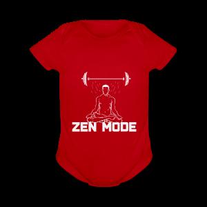 Zen Mode - Short Sleeve Baby Bodysuit