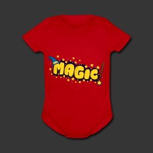 MAGIC - Short Sleeve Baby Bodysuit