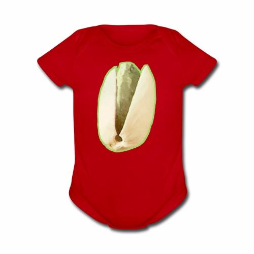 Are you nutz? - Organic Short Sleeve Baby Bodysuit