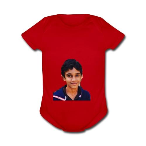 Adobe 20180219 183226 - Organic Short Sleeve Baby Bodysuit