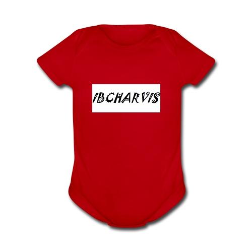 IBCharvis - Organic Short Sleeve Baby Bodysuit