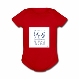 new opportunity - Short Sleeve Baby Bodysuit