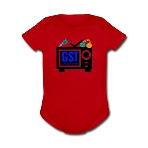 gst - Short Sleeve Baby Bodysuit