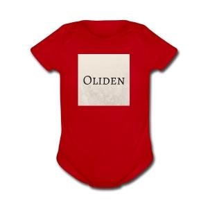 Oliden - Short Sleeve Baby Bodysuit