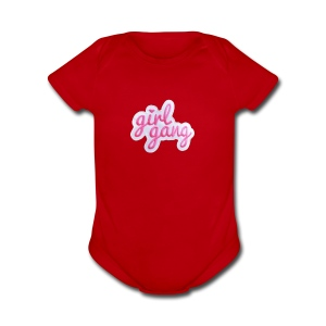 Girl Gang PNG - Short Sleeve Baby Bodysuit