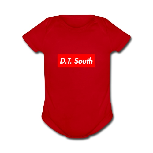 D T South - Organic Short Sleeve Baby Bodysuit