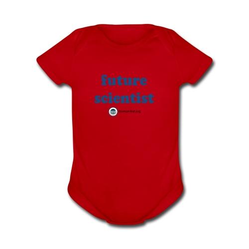 Future Scientist - Organic Short Sleeve Baby Bodysuit