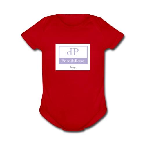 PriscillaRomo savage hoodie - Organic Short Sleeve Baby Bodysuit