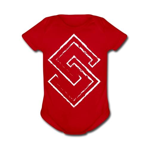 S - Organic Short Sleeve Baby Bodysuit