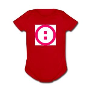 Simplon Icotype Rouge - Short Sleeve Baby Bodysuit