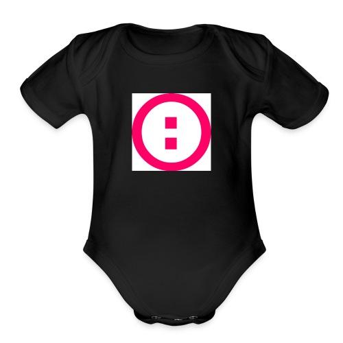 Simplon Icotype Rouge - Organic Short Sleeve Baby Bodysuit