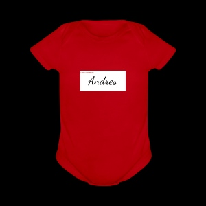 andreshoody - Short Sleeve Baby Bodysuit