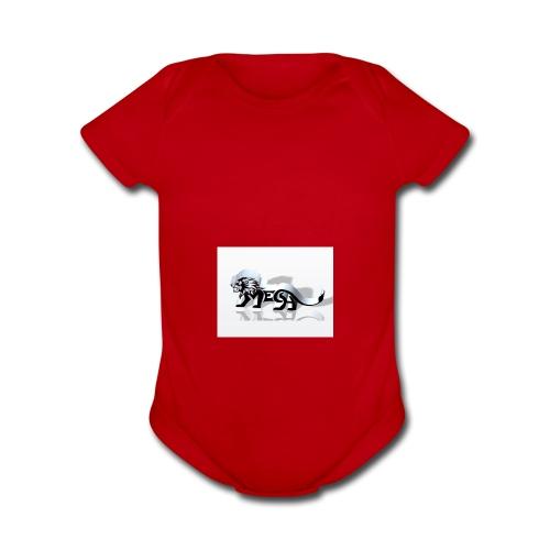large - Organic Short Sleeve Baby Bodysuit