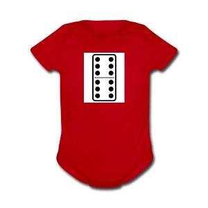 Domino - Short Sleeve Baby Bodysuit