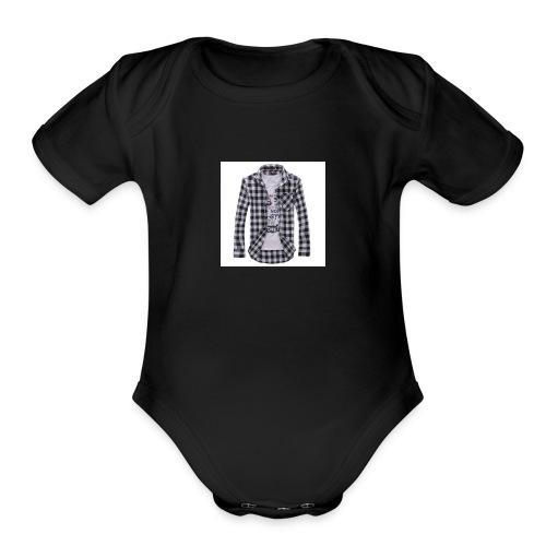 Full sleeves shirt - Organic Short Sleeve Baby Bodysuit