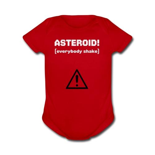 Spaceteam Asteroid! - Organic Short Sleeve Baby Bodysuit