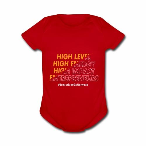 Entrepreneur Motivation! - Organic Short Sleeve Baby Bodysuit
