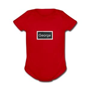 For papi - Short Sleeve Baby Bodysuit