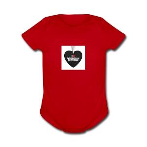 i love dominican republic aifornament r9b9cde7f8c5 - Short Sleeve Baby Bodysuit
