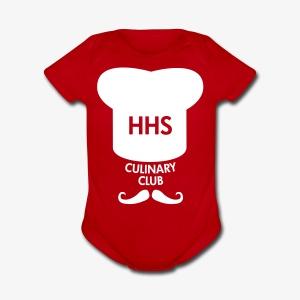 Culinary Club Logo - Short Sleeve Baby Bodysuit