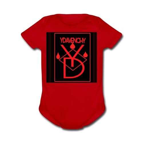 Ydavenchy Day 1 - Organic Short Sleeve Baby Bodysuit
