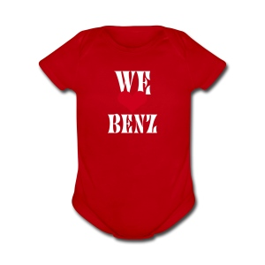Hoodie and t shirt of Mercedes Benz lovers - Short Sleeve Baby Bodysuit