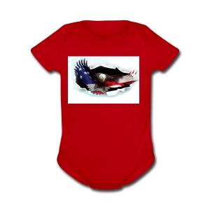 3DEagle - Short Sleeve Baby Bodysuit