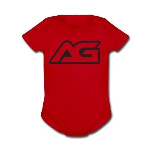 arcade gamer - Short Sleeve Baby Bodysuit
