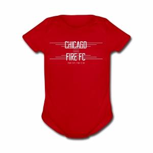 Chicago Fire - Short Sleeve Baby Bodysuit