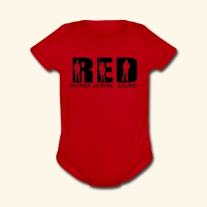 RED Friday - Short Sleeve Baby Bodysuit