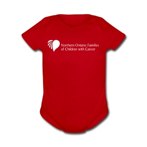 Northern Ontario Families of Children with Cancer - Short Sleeve Baby Bodysuit