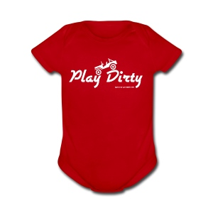 Classic Barlow Adventures Play Dirty Jeep - Short Sleeve Baby Bodysuit