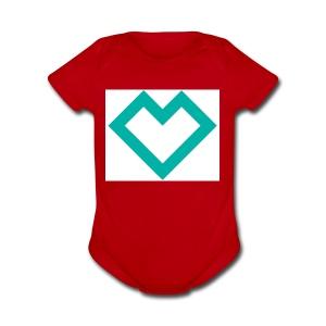 logo - Short Sleeve Baby Bodysuit