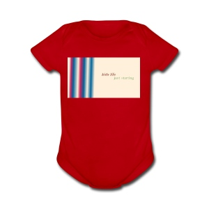 this is kids life - Short Sleeve Baby Bodysuit