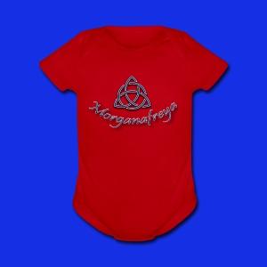 Morganafreya Celtic Knot Icon - Short Sleeve Baby Bodysuit