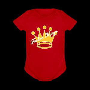 Fashion Kingz Clothing Official Crown Logo - Short Sleeve Baby Bodysuit