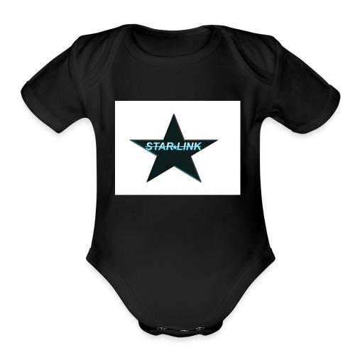 Star-Link product - Organic Short Sleeve Baby Bodysuit