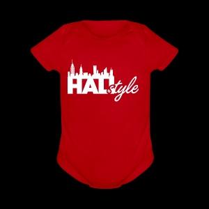 HALIStyle City Skyline - Short Sleeve Baby Bodysuit