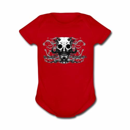 muerte - Organic Short Sleeve Baby Bodysuit