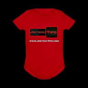 JoeteckTips - Short Sleeve Baby Bodysuit