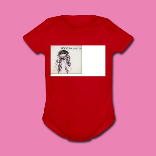 Boobs & Bangs Phone Case - Organic Short Sleeve Baby Bodysuit