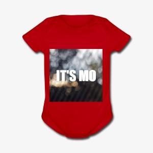 It's Mo shop - Short Sleeve Baby Bodysuit
