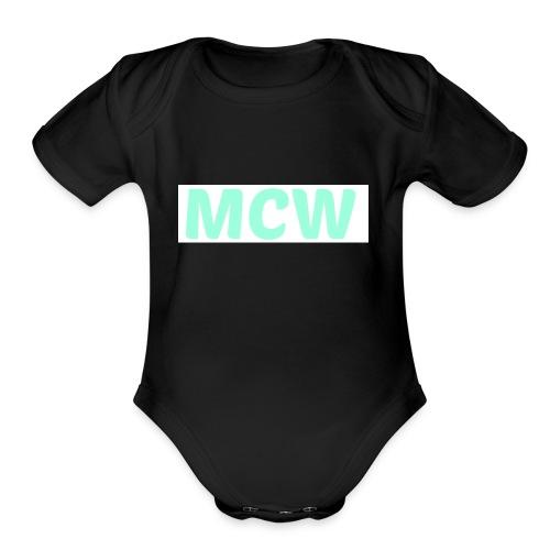 MCW - Organic Short Sleeve Baby Bodysuit