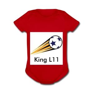 King L11 - Short Sleeve Baby Bodysuit